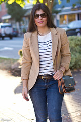 anchored in fall-1.jpg (LyddieGal) Tags: white fall sunglasses fashion vintage outfit coach stripes style jeans camel anchor denim seychelles wardrobe sequins thrifted