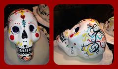 Fondant Skulls, by Vicki, Santa Cruz, CA, www.birthdaycakes4free.com