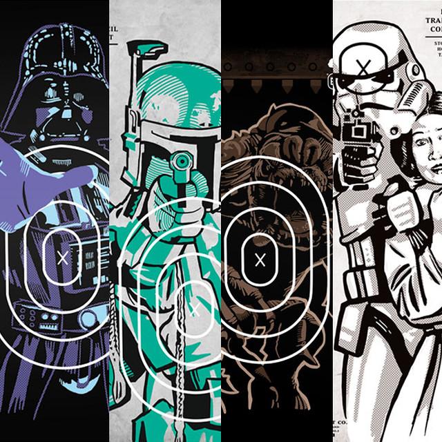 Sneaky Studios – 星際大戰 Star Wars 造型標靶海報
