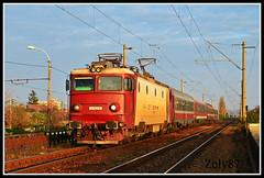 41-0122-6 (Zoly060-DA) Tags: red 6 white electric train fast romania locomotive passenger 5100 41 kw cluj napoca cfr 0122 asea calatori