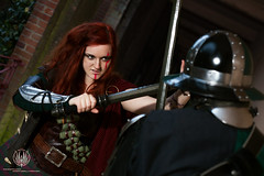 LARP @ So Say We All (saroston) Tags: costume cosplay action live medieval fantasy empire sword armour crossbow larp roleplay roleplaying marches lrp larping buckler navarr wintermark lrping
