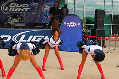 IMG_9878 (grooverman) Tags: plaza sexy canon eos rebel football nice texas cheerleaders legs boots stadium nfl houston booty t3 dslr budweiser texans pregame reliant 2013