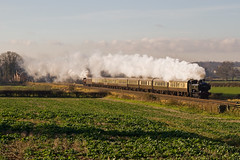 Steam to the Christmas Fayre (mattjspencer) Tags: steam gwr uksteam vintagetrains