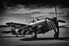 Republic P-47G Thunderbolt - 3 (mod) (NickJ 1972) Tags: republic aviation september airshow duxford 2012 thunderbolt snafu p47 wzd gcdvx 225068