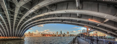 Blackfriars Bridge (Suggsy69) Tags: bridge london thames nikon fisheye riverthames hdr highdynamicrange blackfriarsbridge fisheyelens d5200