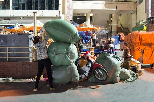 Heavy load motorbike