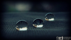 water droplet with my new cam (akshaypatil™ ® photography) Tags: