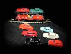 Dachbodenfund (karin_b1966) Tags: toys eisenbahn zug trail spielzeug modelleisenbahn 2014 minitrix dachbodenfund