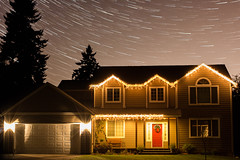 Home for the Holidays (schneidly01) Tags: nightsky startrails