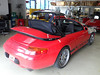 04 Porsche 911-996 Original-Line Renolit Flexglas Verdeck Montage rs 04
