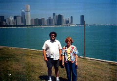 Chunky Monkey and wife (Michael Vance1) Tags: family boy vacation woman man grandmother father grandfather mother husband granddaughter grandson wife writer author