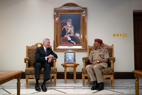 SECNAV meets with the Omani Chief of Staff of the Sultan's Armed Forces