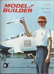 Model Builder magazine Apr 1974 (thegreatlandoni) Tags: 1974 denver used magazines 25cents denvercolorado modelbuilder scalemodel wingsovertherockies usedbooksale thegreatlandoni wingsmuseumorg