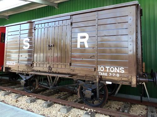 46923 ex3713 - London, Brighton & South Coast Railway 10 ton Goods Van