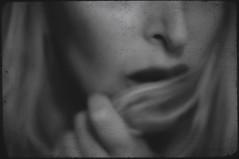 cold (*storyteller*) Tags: portrait blackandwhite selfportrait texture me mouth hair nikon heart lips 2011 d300s