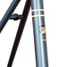 Gunnar Sport in Englsih Blue with Custom Stripes - Seat tube closeup