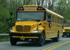 Rolling V #412 (Hudson Valley Bus Photography) Tags: school bus v rolling