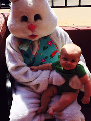 "Paul Poses with the Easter Bunny • <a style=""font-size:0.8em;"" href=""http://www.flickr.com/photos/109120354@N07/13972551626/"" target=""_blank"">View on Flickr</a>"