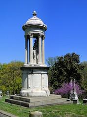 Bowles Monument (cindy47452) Tags: cemetery graveyard kentucky louisville jeffersoncounty cavehillcemetery cavehillnationalcemetery dschx1