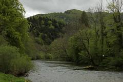 Doubs ( Fluss - River ) oberhalb von St. Ursanne im Kanton Jura in der Schweiz (chrchr_75) Tags: nature creek river schweiz switzerland suisse swiss natur bach jura april christoph svizzera fluss 1404 2014 doubs suissa kanton chrigu chrchr kantonjura hurni chrchr75 chriguhurni april2014 chriguhurnibluemailch hurni140430 albumdoubs