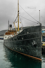 "Good old ""Stord 1"" (Terje Helberg Photography) Tags: old sea norway vintage boat samsung bergen steamship steamer nx1000"
