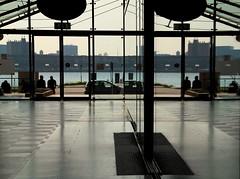 Look twice (mennomenno.) Tags: reflections rotterdamzuid reflecties laanopzuid posthumalaan doorgang