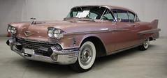 1958 Cadillac Coupe Deville (crusaderstgeorge) Tags: 1958cadillaccoupedeville cadillac coupe deville arenawheels göranssonarena sandviken classiccars classic cars crusaderstgeorge