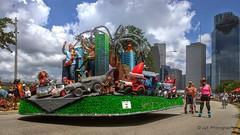 Art Car Parade Houston (elnina999) Tags: art cars fun outdoors texas houston bikes entertainment activities artcarparade lawnmowers unicycles gocards nokialumia1020 motorizedcreatures