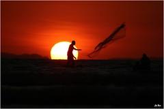 Pêcheur de Tarcoles (mars-chri) Tags: de soleil costarica coucher tarcoles côtepacifique fabuleuse