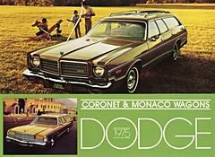 1975 Dodge Coronet & Monaco Wagons (aldenjewell) Tags: wagon postcard monaco 1975 dodge coronet