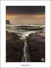 Rising Deep (John_Armytage) Tags: seascape clouds sunrise flow focus sony australia textures nsw northernbeaches bungan slowwater bunganbeach canontse24mmf35lii johnarmytage focusphotographers sonya7r