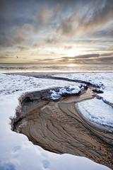 No. 0990 Winter sunrise (H-L-Andersen) Tags: winter sky sun seascape beach sunrise landscape denmark 1740mm 6d landoflight lbk canoneos6d hlandersen