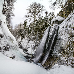 Cascade du Gros Htre (Herv D.) Tags: winter snow ice waterfall hiver neige cascade valentin torrent glace gave pyrnes gourette laruns ossau eauxbonnes