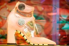 Louis Vuitton Shoe (garryknight) Tags: pink ladies london window fashion shop boot shoe samsung shopwindow louisvuitton lightroom nx2000 perfectphotosuite