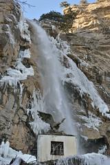 Several views of the Uchan-Su.  - (kva_pharm) Tags: winter sea black ice waterfall crimea uchansu