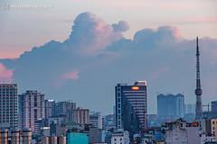 vl_03907 (Hanoi's Panorama & Skyline Gallery) Tags: city sunset sky panorama lake building skyline architecture skyscraper canon asian hotel asia downtown capital skylines vietnam architect hanoi operahouse asean appartment hoankiem việtnam hànội hồgươm skyscrapercity hồhoànkiếm hoànkiếm caoốc keangnamlandmark
