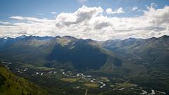 Mile Hi - Eagle River, Alaska (timhartl) Tags: usa mountains alaska clouds river hiking ak anchorage eagleriver landschaft wandern saddle milehigh gebirge chugach chugachstatepark milehi