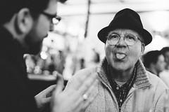 alex (ken_tsuda) Tags: street london alex beer tongue bar fun 50mm nikon bokeh 14 rake primelens craftbeer d700 kentsuda 20150117rake1438