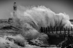 Seaburn Promenade, Sunderland (DM Allan) Tags: winter lighthouse northsea promenade sunderland roker seaburn wearside stormyseas