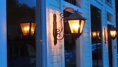 Lamplights & Reflections.1 (mcreedonmcvean) Tags: downtownaustin lamplights 6thstw