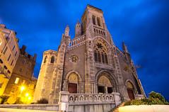 ST.EUGENIE BIARRITZ (Rober1000x) Tags: longexposure summer france church cathedral verano bluehour francia biarritz basquecountry paisvasco 2014 steugenie aquitaine aquitania
