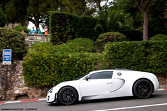 Moby Dick (Clment | www.carbonphoto.fr) Tags: auto white racetrack nikon automobile track dick voiture montecarlo monaco mc coche 164 moby bugatti blanc supercar luxe veyron mansory hypercar d300s luxuru