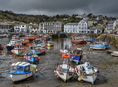 Fishing Boats In Mevagissey (Tilney Gardner) Tags: clouds coast nikon cornwall mevagissey