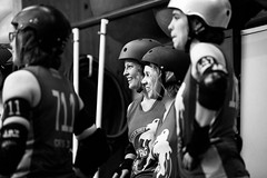 NRG 5 years (Tup') Tags: blackwhite europe belgium body rollerderby gear places treatment floreffe rgionwallonne canon5dmarkii nrg5years
