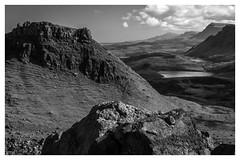 "Mountains (steiner2009 ""AKA Dr Dust "") Tags: blackandwhite lake mountains skye water clouds landscape scotland rocks lakes isle lochs"