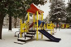 Il Dio dell'inverno  arrivato... (sirio174 (anche su Lomography)) Tags: como neve nevicata inverno winter snow lagodicomo comolake giardinialago