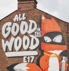 All good in the wood (CdL Creative) Tags: england streetart london canon geotagged eos unitedkingdom gb e17 walthamstow walthamforest cdlcreative 1dmkiii geo:lat=515882 geo:lon=00042 allgoodinthewood
