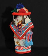 Huichol Doll Nayarit Mexico (Teyacapan) Tags: mexico toys doll nayarit textiles muneca wixarika