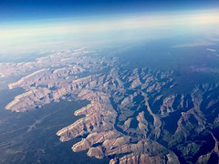 Somewhere over the Grand Canyon (ataxiagallery) Tags: airplane grandcanyon aerialview
