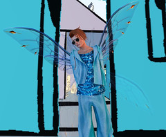 Abstract (niki wirefly) Tags: male wings sl fairy secondlife fairey niki fae
